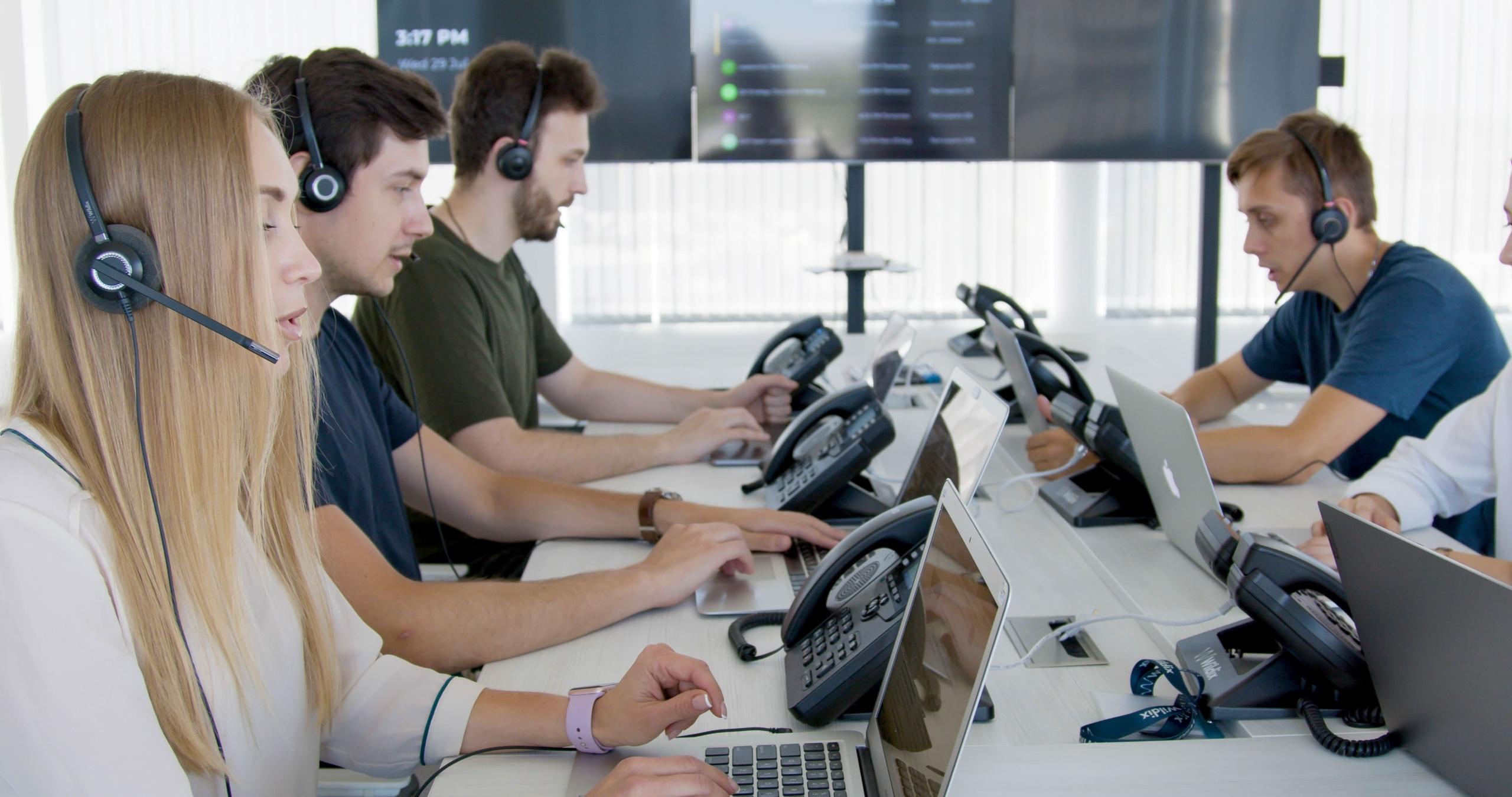 monitoraggio call center